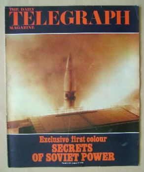 The Daily Telegraph magazine - Secrets of Soviet Power cover (27 August 1976)