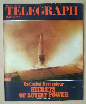 <!--1976-08-27-->The Daily Telegraph magazine - Secrets of Soviet Power cov