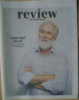 The Daily Telegraph Review newspaper supplement - 31 January 2015 - John Lithgow cover
