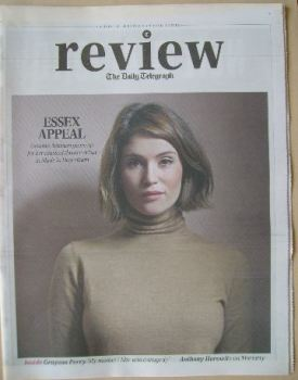 The Daily Telegraph Review newspaper supplement - 18 October 2014 - Gemma Arterton cover