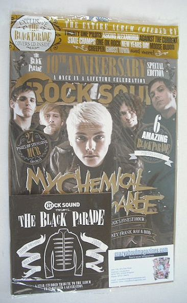 <!--2016-10-->Rock Sound magazine - My Chemical Romance cover (October 2016