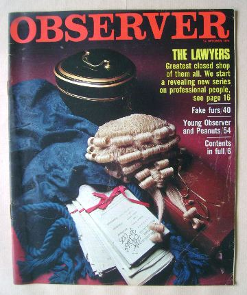 <!--1976-10-24-->The Observer magazine - 24 October 1976