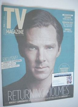 The Sun TV magazine - 28 December 2013 - Benedict Cumberbatch cover
