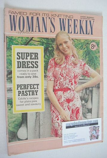 <!--1969-08-09-->Woman's Weekly magazine (9 August 1969)