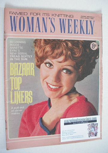 <!--1969-04-26-->Woman's Weekly magazine (26 April 1969)