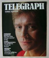 <!--1984-02-05-->The Sunday Telegraph magazine - Anthony Andrews cover (5 February 1984)