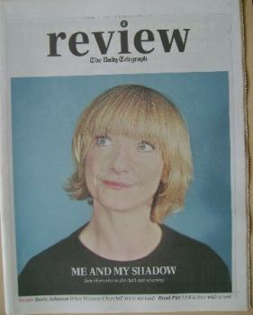 The Daily Telegraph Review newspaper supplement - 11 October 2014 - Jane Horrocks cover