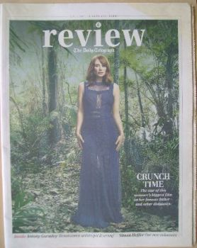 The Daily Telegraph Review newspaper supplement - 6 June 2015 - Bryce Dallas Howard cover