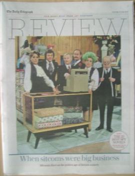 The Daily Telegraph Review newspaper supplement - 30 July 2016 - Are You Being Served? cover