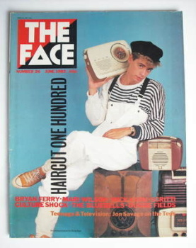 <!--1982-06-->The Face magazine - Nick Heywood cover (June 1982 - Issue 26)