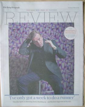 The Daily Telegraph Review newspaper supplement - 26 March 2016 - Timothy Spall cover