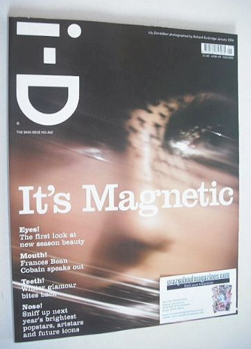 <!--2006-01-->i-D magazine - Lily Donaldson cover (January 2006)