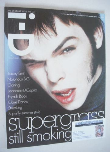 <!--1997-05-->i-D magazine - Gaz Coombes cover (May 1997)
