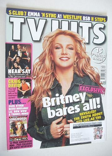 <!--2001-04-->TV Hits magazine - April 2001 - Britney Spears cover