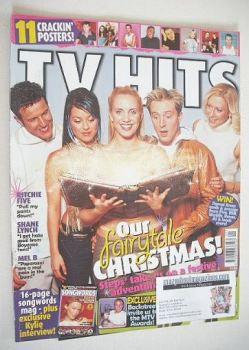 TV Hits magazine - January 2001 - Steps cover