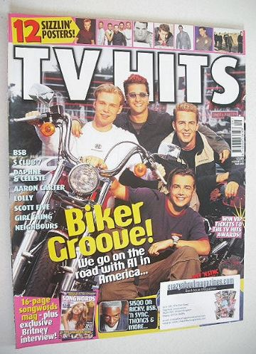 <!--2000-09-->TV Hits magazine - September 2000 - A1 cover