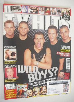TV Hits magazine - August 2000 - Five cover