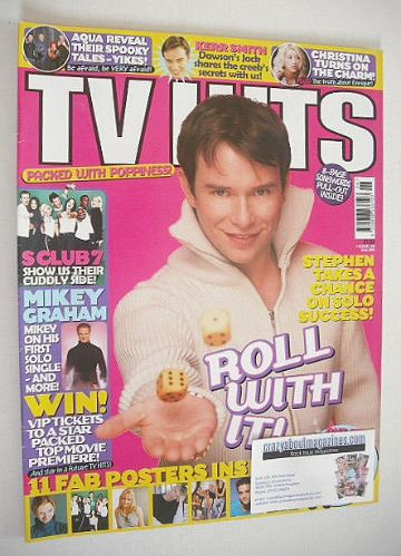 <!--2000-06-->TV Hits magazine - June 2000 - Stephen Gately cover