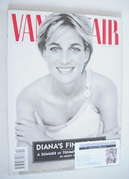 Vanity Fair magazine - Princess Diana cover (October 1997)