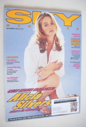 <!--1995-11-->Sky magazine - Alicia Silverstone cover (November 1995)