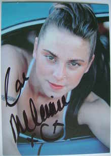 Melanie C autograph (Formerly of The Spice Girls)