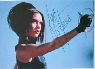 Victoria Beckham autograph