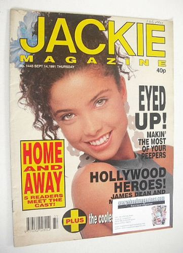<!--1991-09-14-->Jackie magazine - 14 September 1991 (Issue 1445)