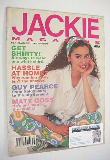 <!--1991-08-31-->Jackie magazine - 31 August 1991 (Issue 1443)