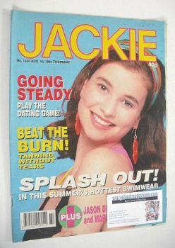 Jackie magazine - 10 August 1991 (Issue 1440)