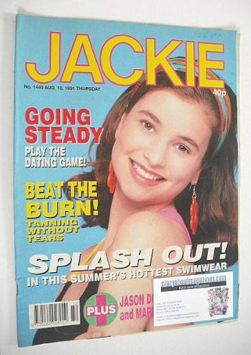 <!--1991-08-10-->Jackie magazine - 10 August 1991 (Issue 1440)