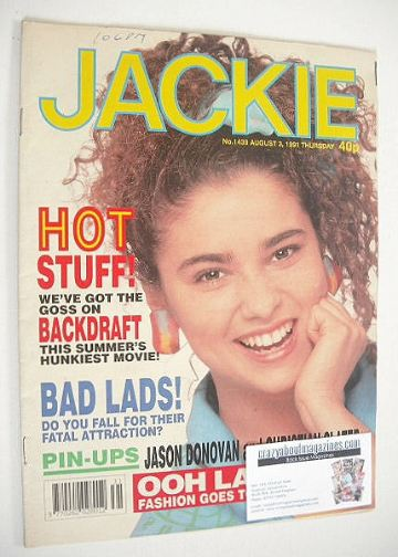<!--1991-08-03-->Jackie magazine - 3 August 1991 (Issue 1439)