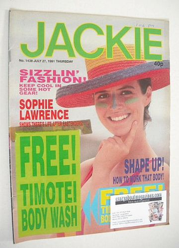 <!--1991-07-27-->Jackie magazine - 27 July 1991 (Issue 1438)