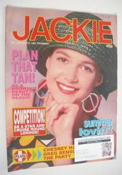Jackie magazine - 13 July 1991 (Issue 1436)