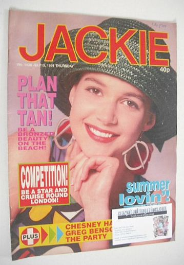 <!--1991-07-13-->Jackie magazine - 13 July 1991 (Issue 1436)
