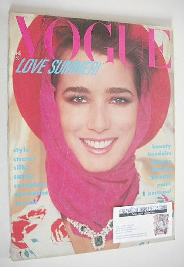 <!--1984-06-->British Vogue magazine - June 1984 (Vintage Issue)