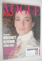 <!--1985-01-->British Vogue magazine - January 1985 - Kelly Le Brock cover