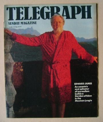 <!--1977-05-08-->The Sunday Telegraph magazine - Edward James cover (8 May
