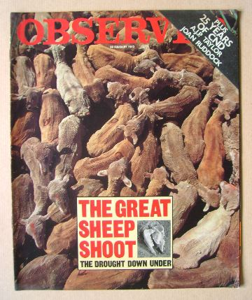 <!--1983-02-20-->The Observer magazine - 20 February 1983