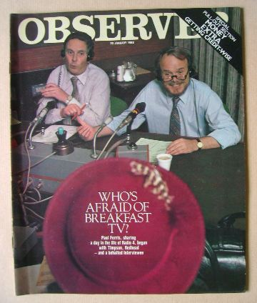 <!--1983-01-23-->The Observer magazine - 23 January 1983