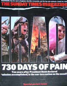 <!--2005-05-01-->The Sunday Times magazine - 730 Days Of Pain cover (1 May