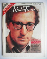 <!--1987-11-07-->Radio Times magazine - Woody Allen cover (7-13 November 1987)