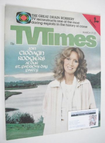 <!--1979-03-17-->TV Times magazine - Clodagh Rodgers cover (17-23 March 197