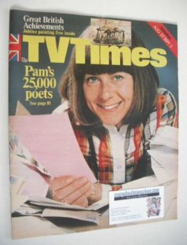 TV Times magazine - Pam Ayres cover (27 August - 2 September 1977)