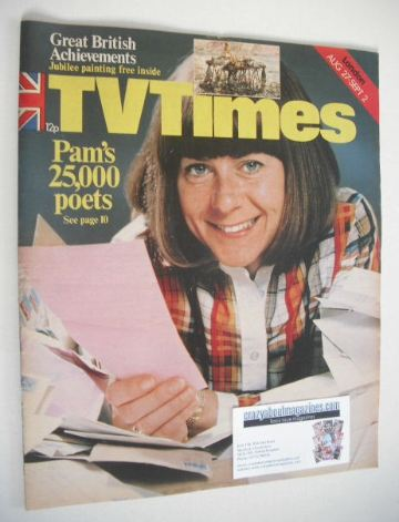<!--1977-08-27-->TV Times magazine - Pam Ayres cover (27 August - 2 Septemb
