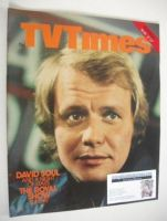 <!--1977-05-21-->TV Times magazine - David Soul cover (21-27 May 1977)