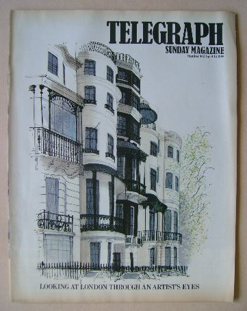 <!--1985-04-14-->The Sunday Telegraph magazine - Looking At London Through