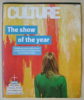 Culture magazine - The Show Of The Year cover (25 September 2016)