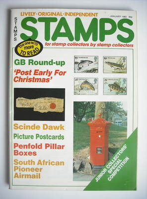 Stamps magazine - January 1983