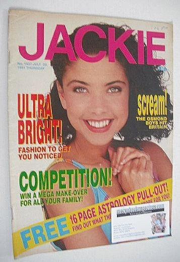 <!--1991-07-20-->Jackie magazine - 20 July 1991 (Issue 1437)