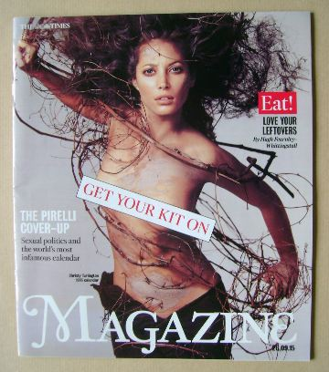 <!--2015-09-26-->The Times magazine - Christy Turlington cover (26 Septembe